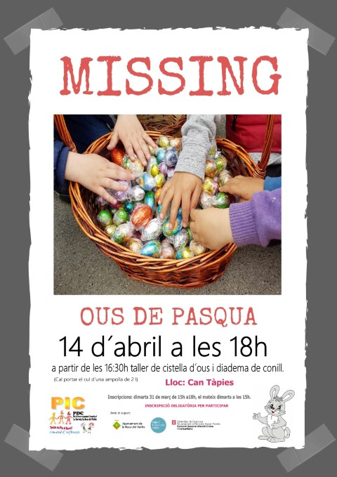 MISSING Ous de Pasqua