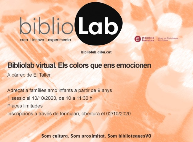 Bibliolab virtual. Els colors que ens emocionen